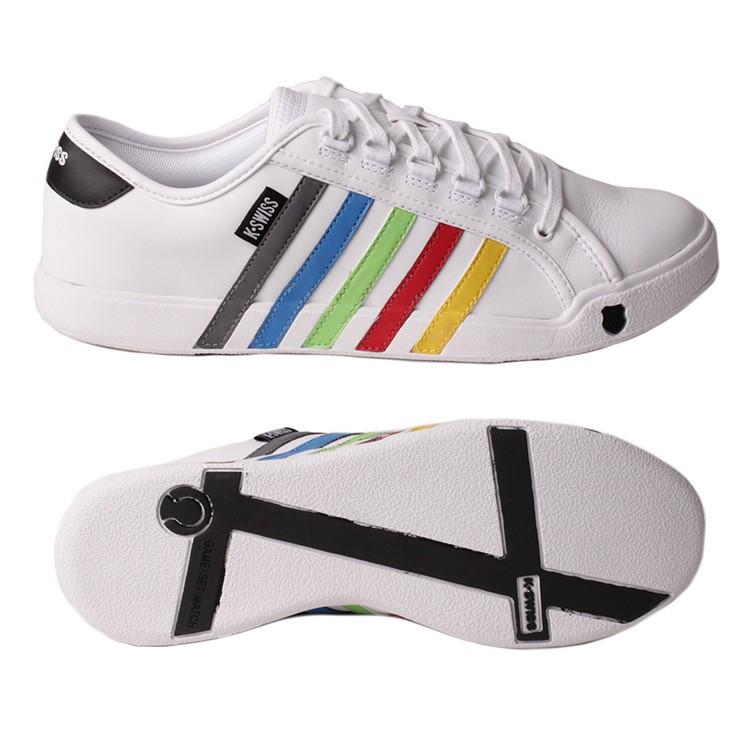 k swiss newport wei multicolor sneaker herren 02160917. Black Bedroom Furniture Sets. Home Design Ideas
