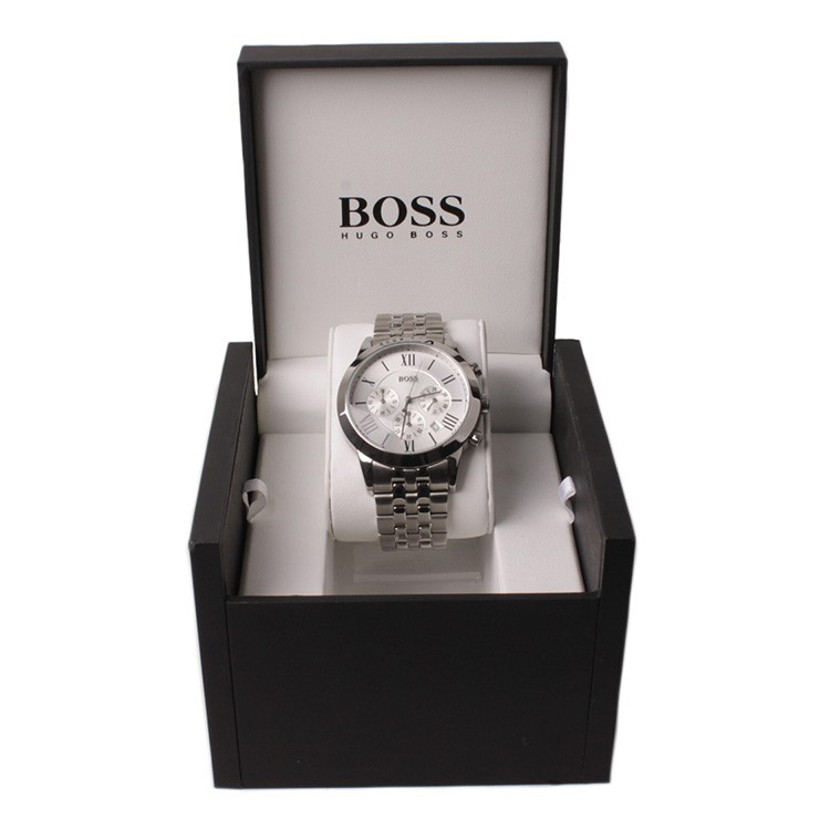 hugo boss herren uhr chrono hb1512571 armbanduhr ebay. Black Bedroom Furniture Sets. Home Design Ideas