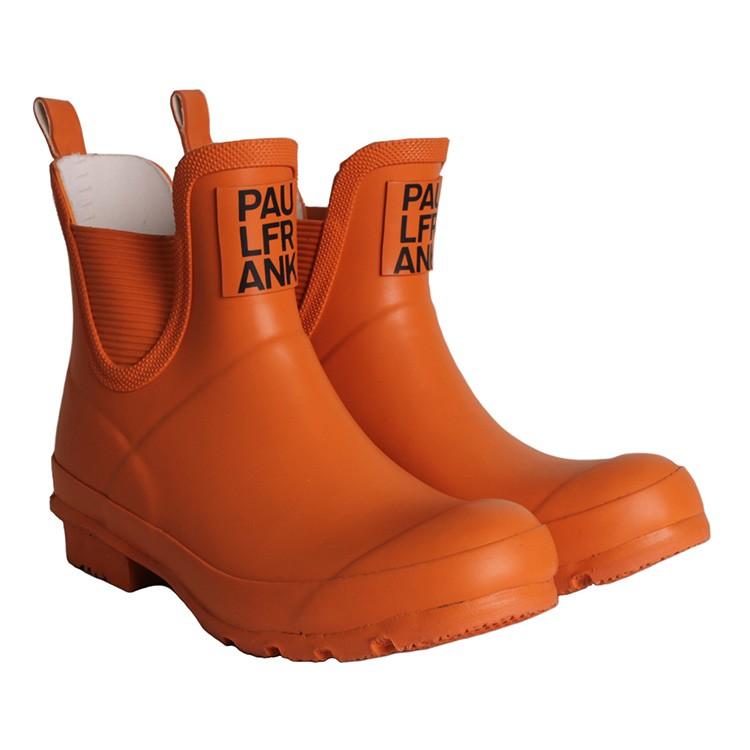 paul frank puddle jumper low orange damen gummistiefel gr 37 ebay. Black Bedroom Furniture Sets. Home Design Ideas