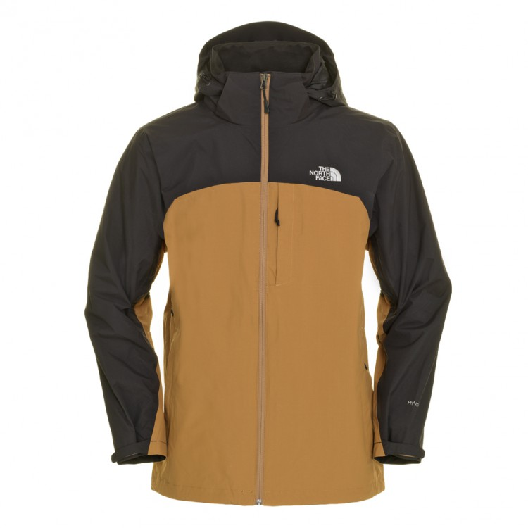 the north face herren evolution parka winter jacke braun. Black Bedroom Furniture Sets. Home Design Ideas