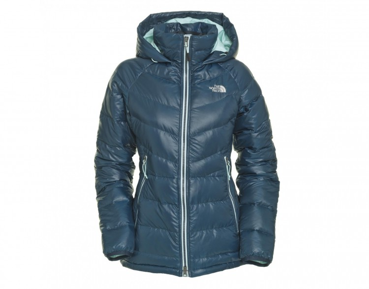 the north face damen jacke polar down parka kodiak blue. Black Bedroom Furniture Sets. Home Design Ideas