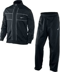 Nike-CLIO-WARM-UP-Trainingsanzug-Herren-Tracksuit-Schwarz-S-XL