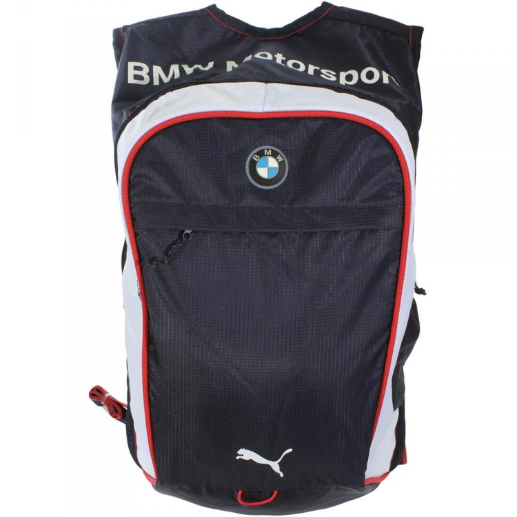 puma bmw motorsport backpack rucksack 071564 02 ebay. Black Bedroom Furniture Sets. Home Design Ideas